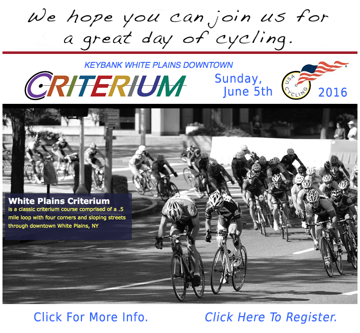 White Plains Criterium Race
